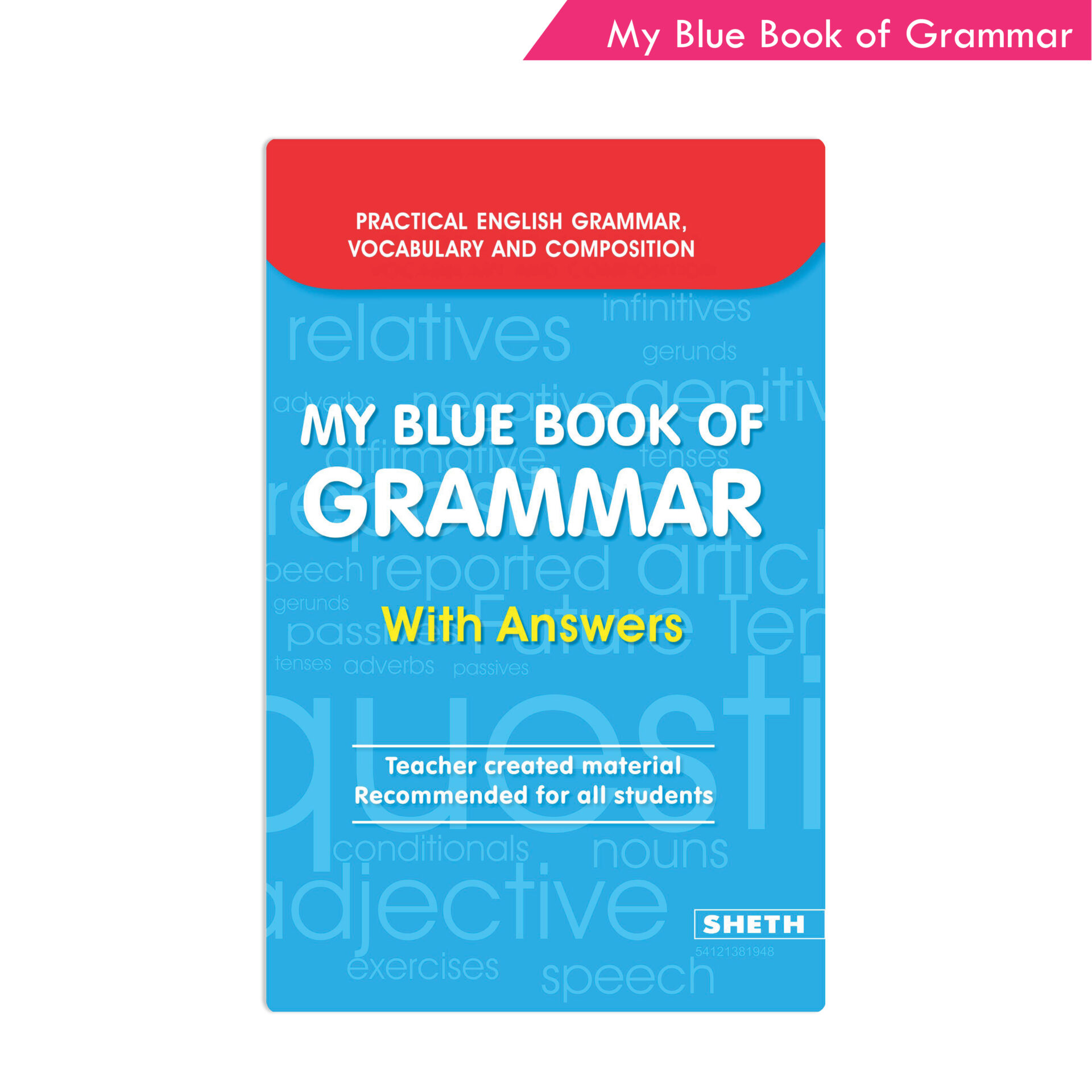 Sheth Books My Blue Book of Grammar With Answers 1