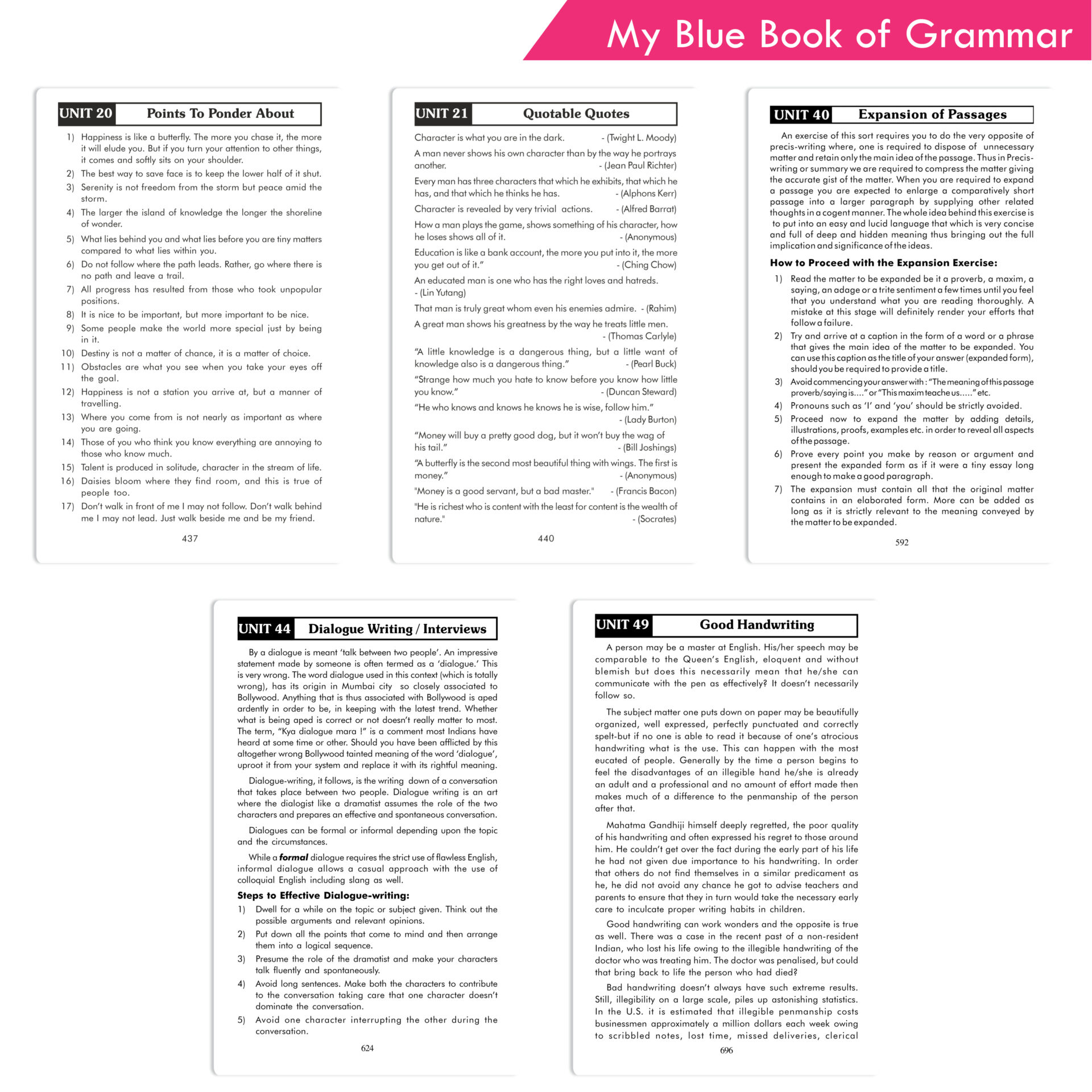 Sheth Books My Blue Book of Grammar With Answers 6