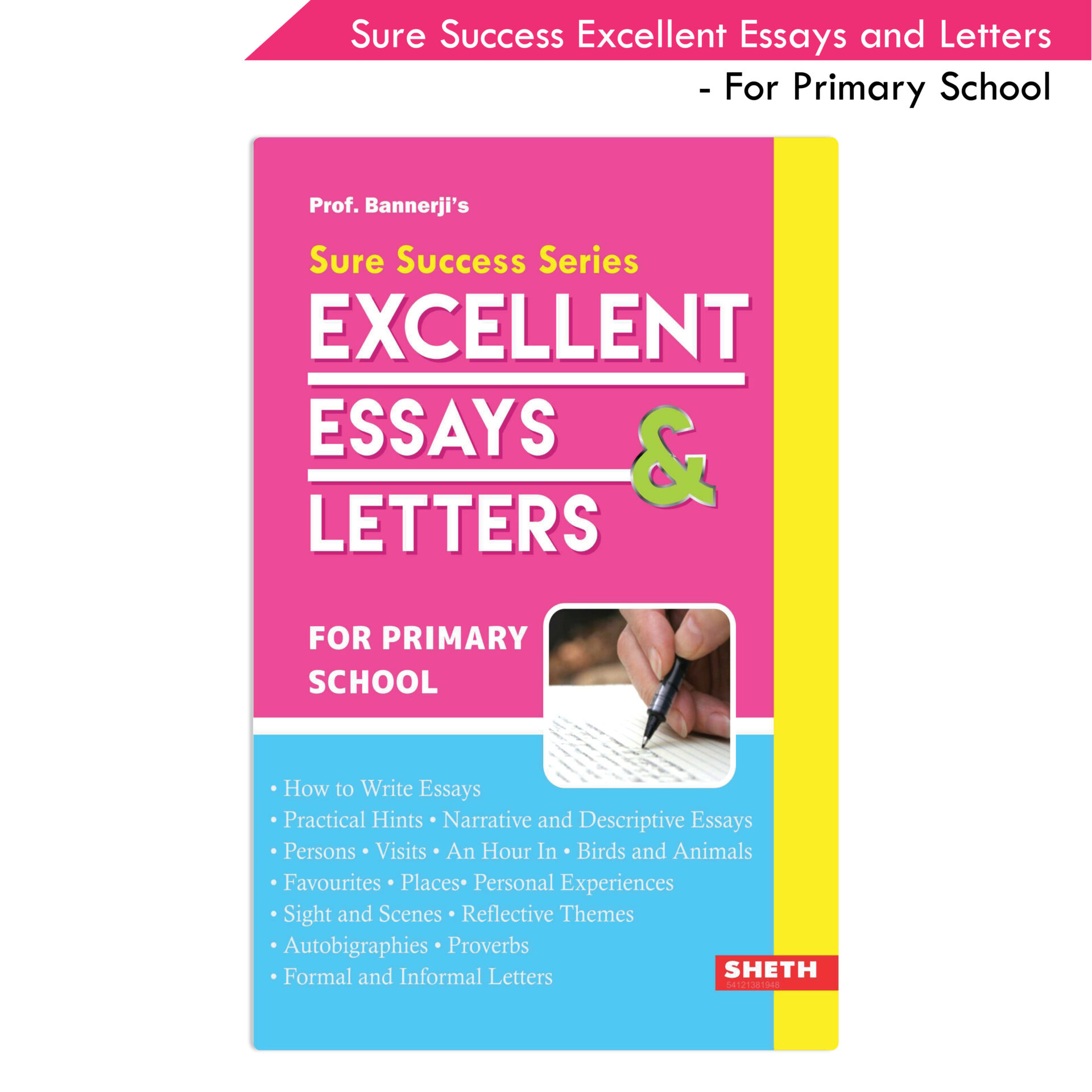 Sure Success Excellent Essays and Letters For Primary School 1