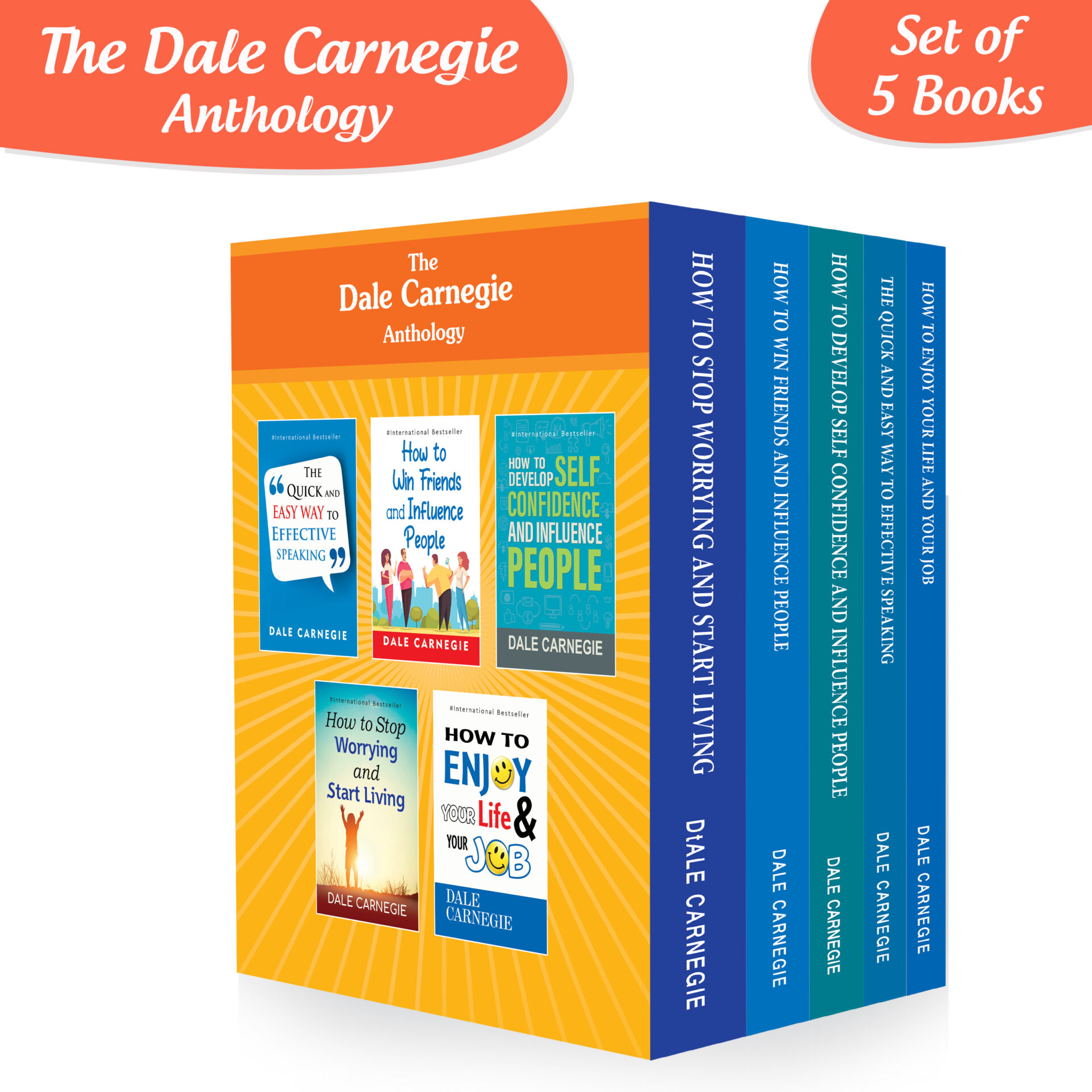 Best of Dale Carnegie For Personality Development Books Set Set of 5 1