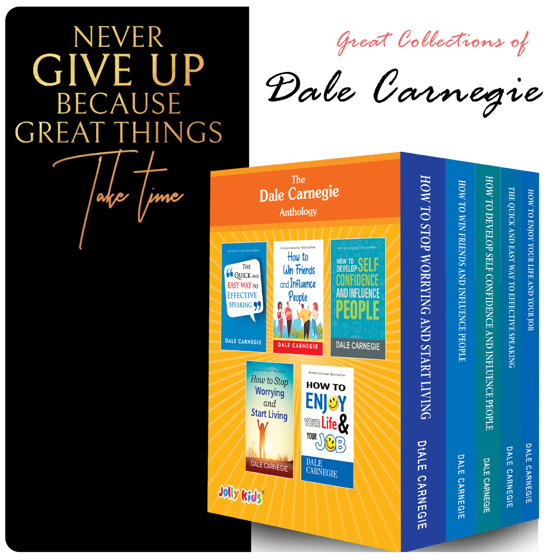 Best of Dale Carnegie For Personality Development Books Set Set of 5 5