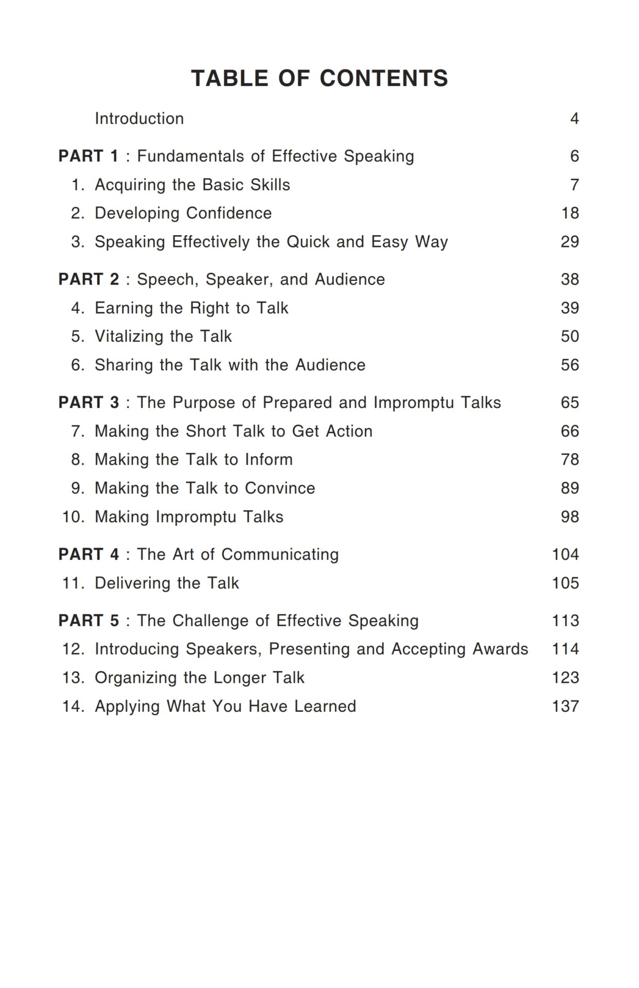 Insight Press The Quick And Easy Way To Effective Speaking 2