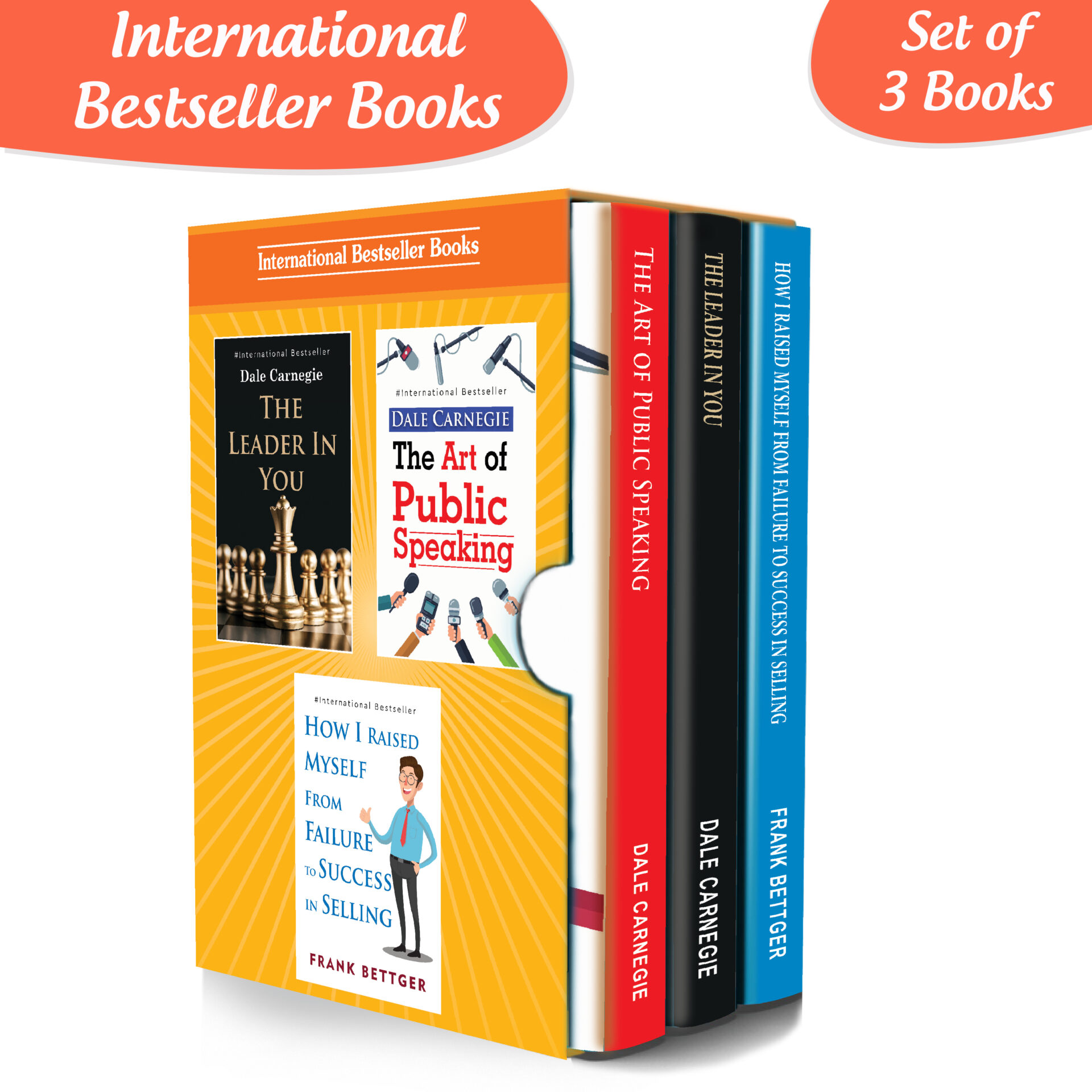 Personality Development for Business Management Books Set Set of 3 1