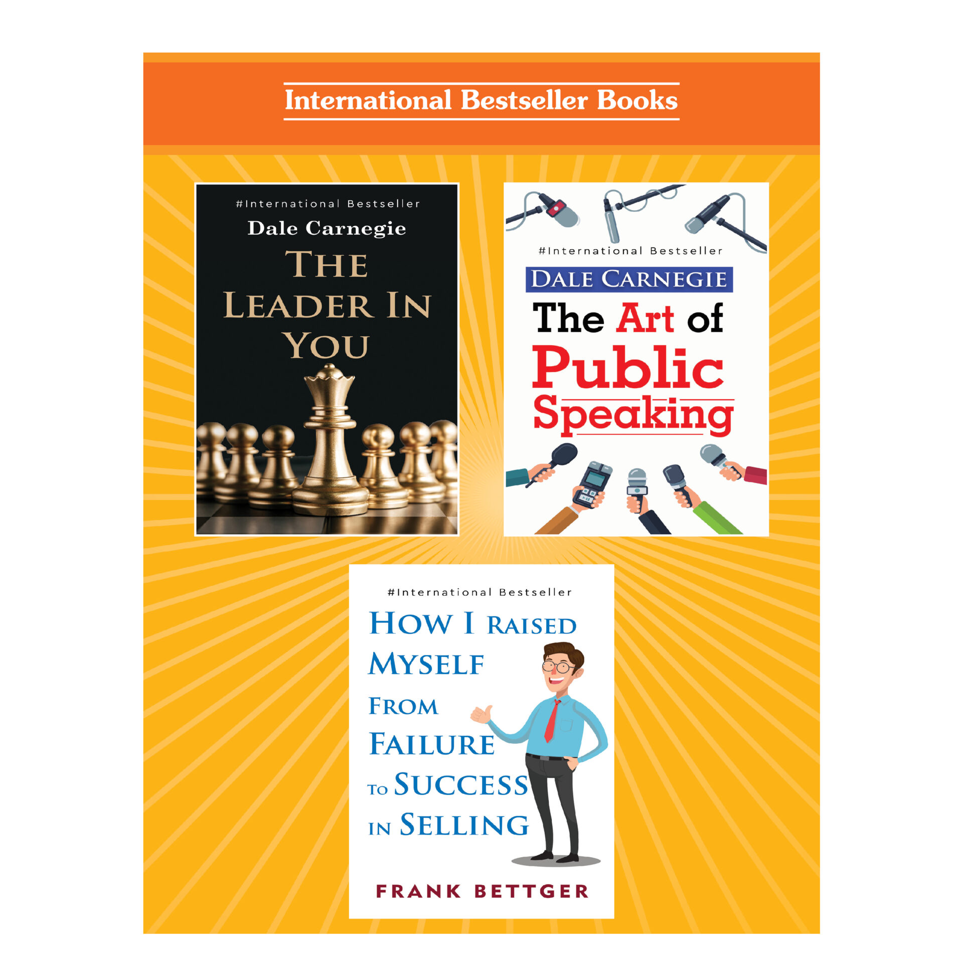 Personality Development for Business Management Books Set Set of 3 5