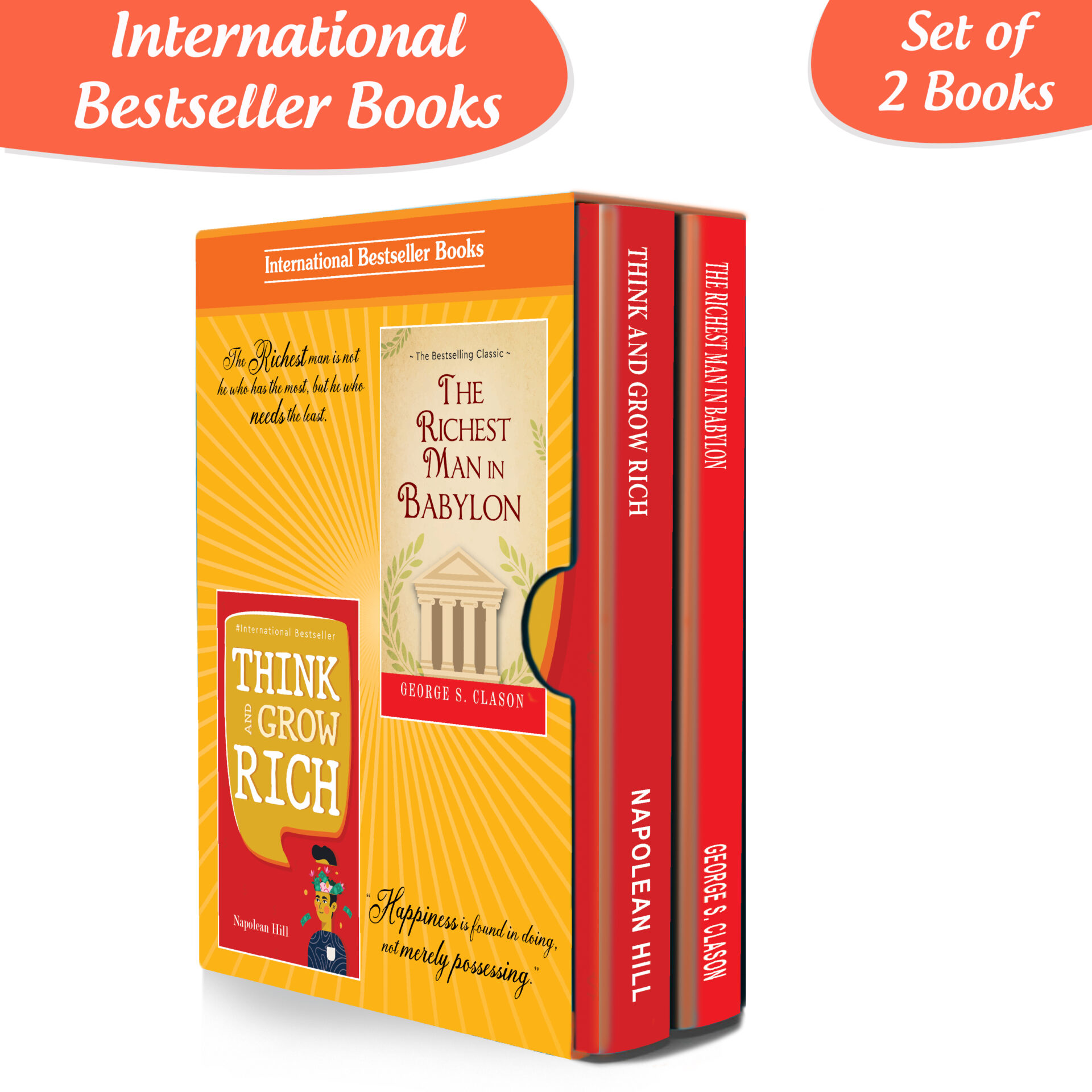 The Secrets of Success Personality Growth Wealth Books Set Set of 2 1