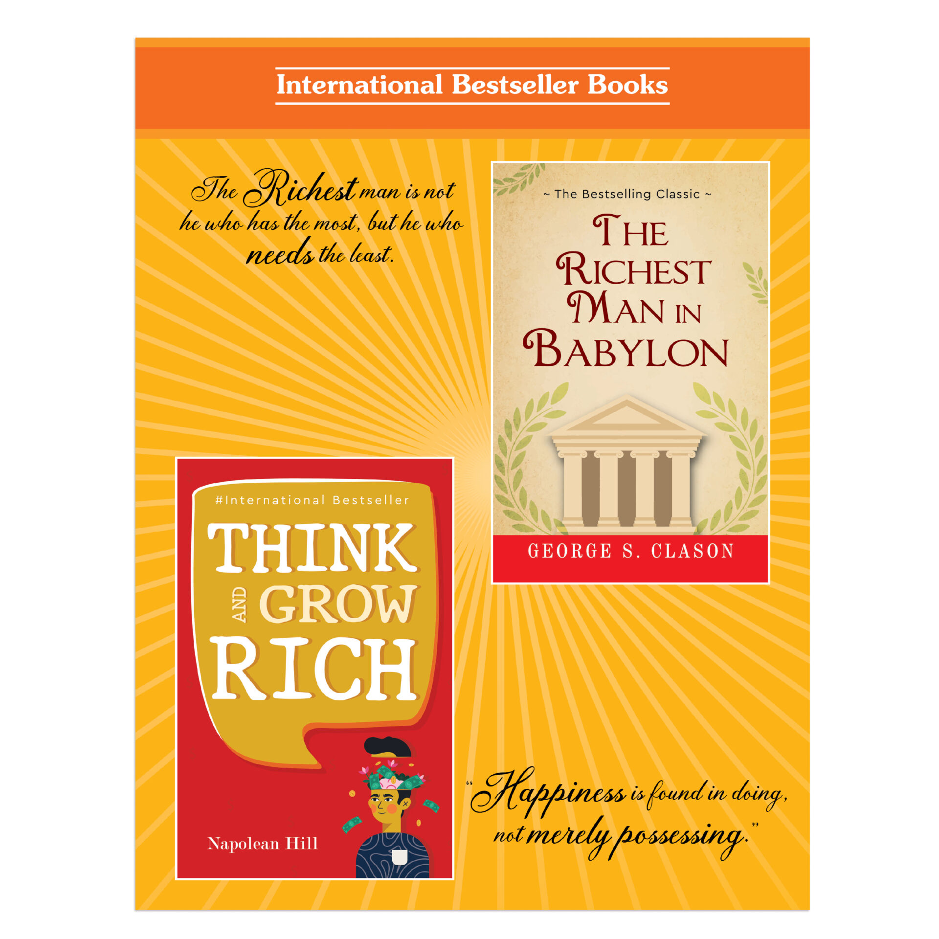 The Secrets of Success Personality Growth Wealth Books Set Set of 2 5