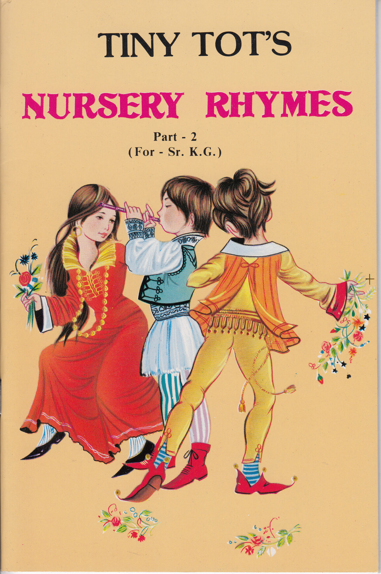 Tiny Tots Nursery Rhymes Part 2 For Sr. K.G.