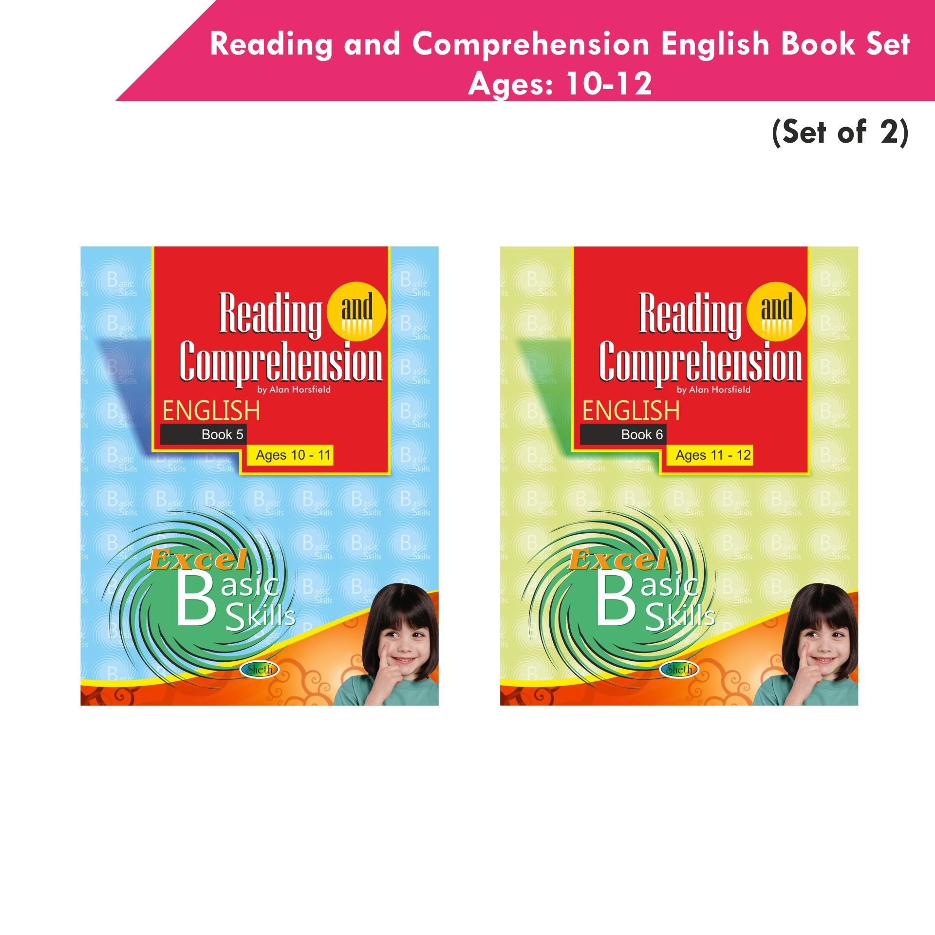 Excel Reading and Comprehension English Book Set 3 Set of 2 1