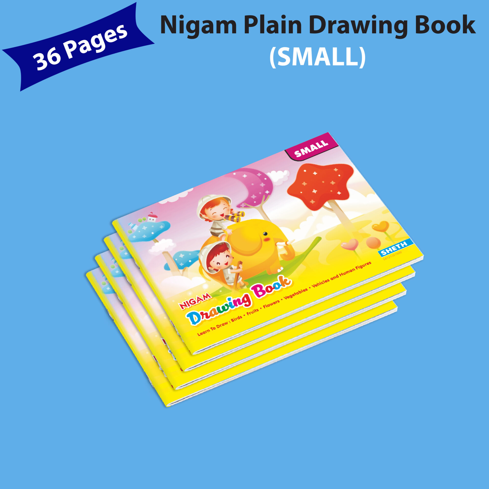 Nigam Drawing Book Small 1